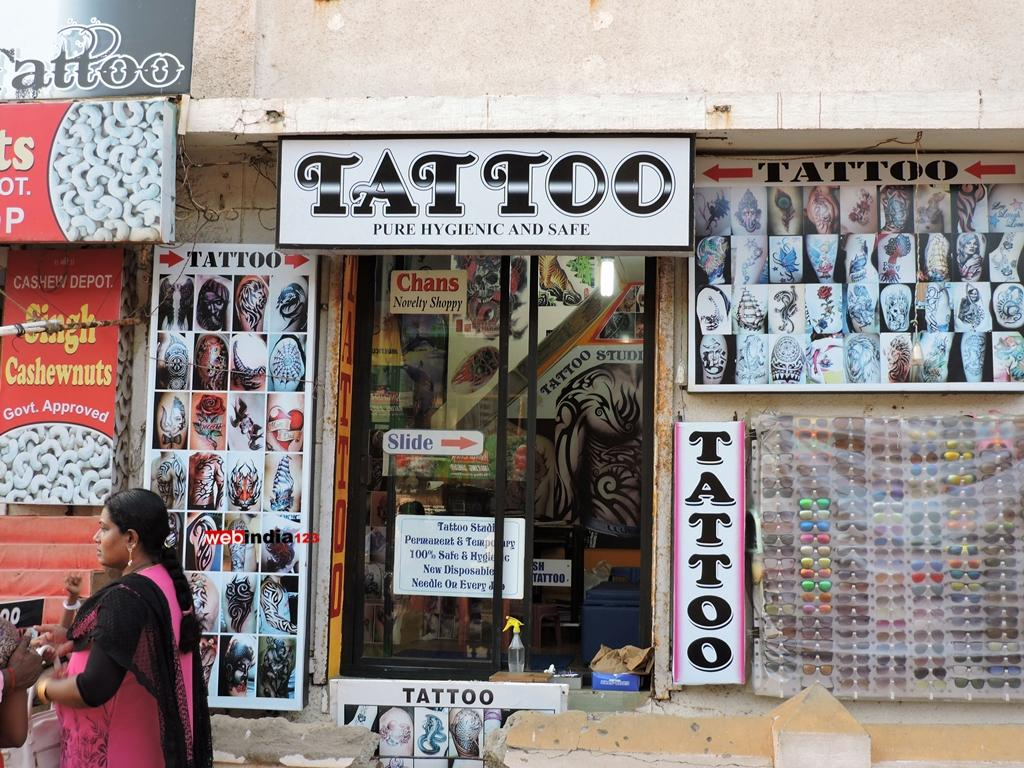 Tattoo Studio, Calangute Beach, Goa