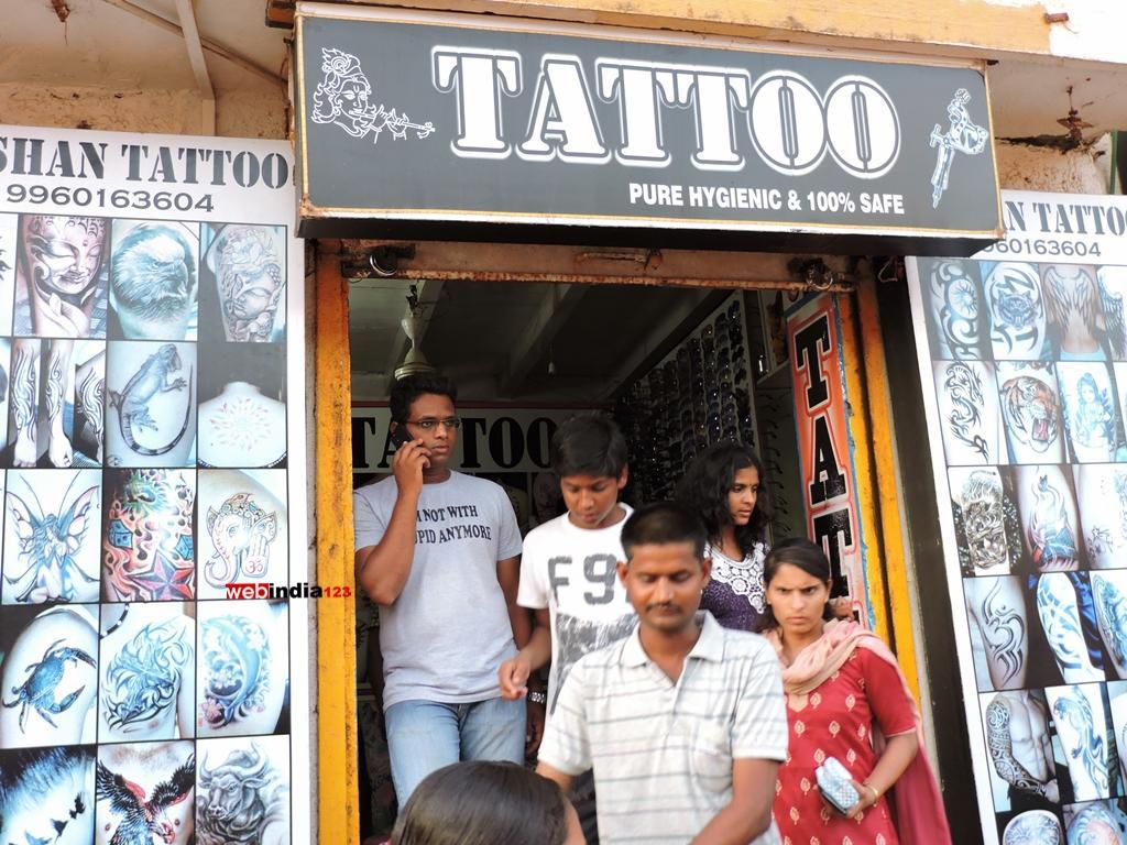 Tattoo Studio, Calangute Beach, Goa