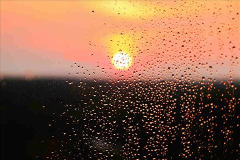 Rain @Sunset