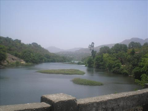Beautiful hilly view of Bhandardara