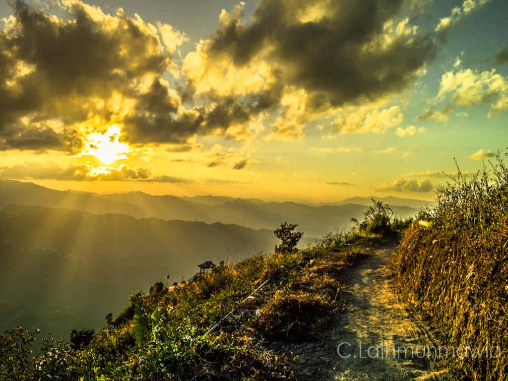Aizawl Sunset