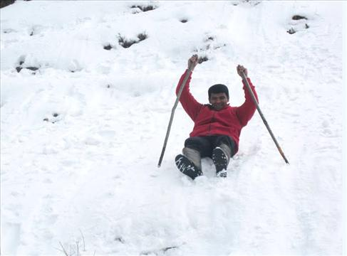 Kufri - Skiing