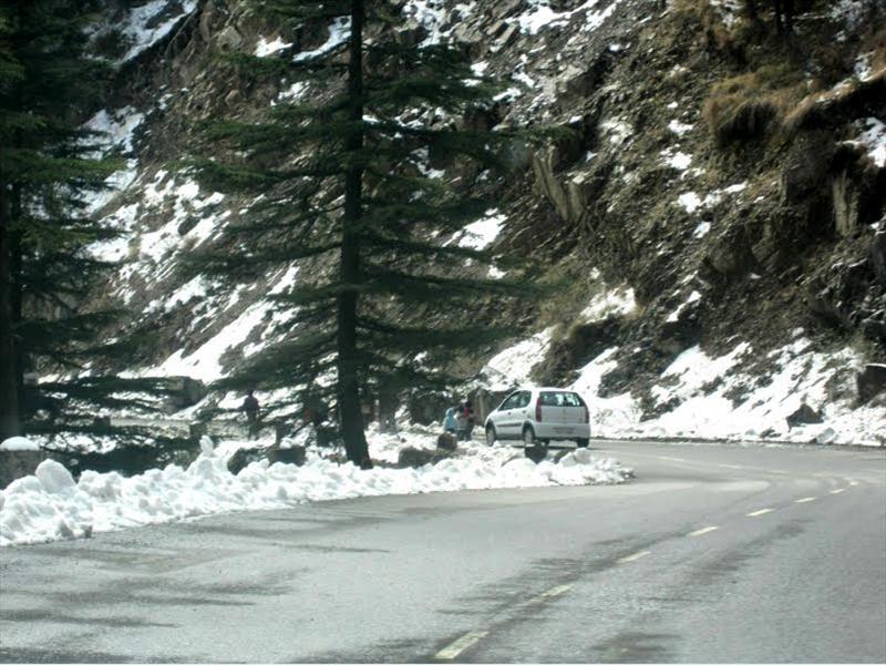On the way to Kufri
