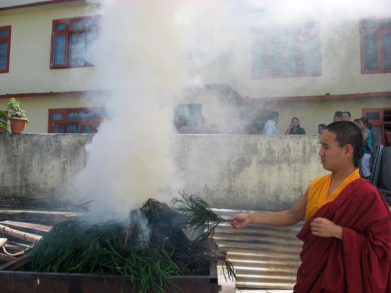 a buddist sannasi