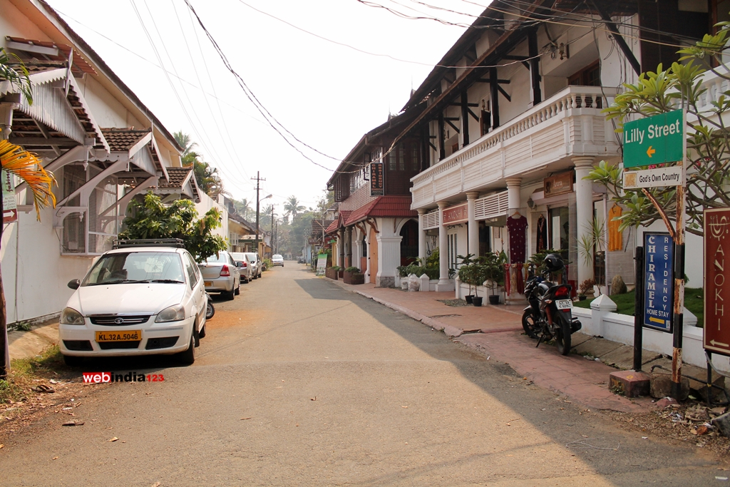 Lilly Street Fort Kochi