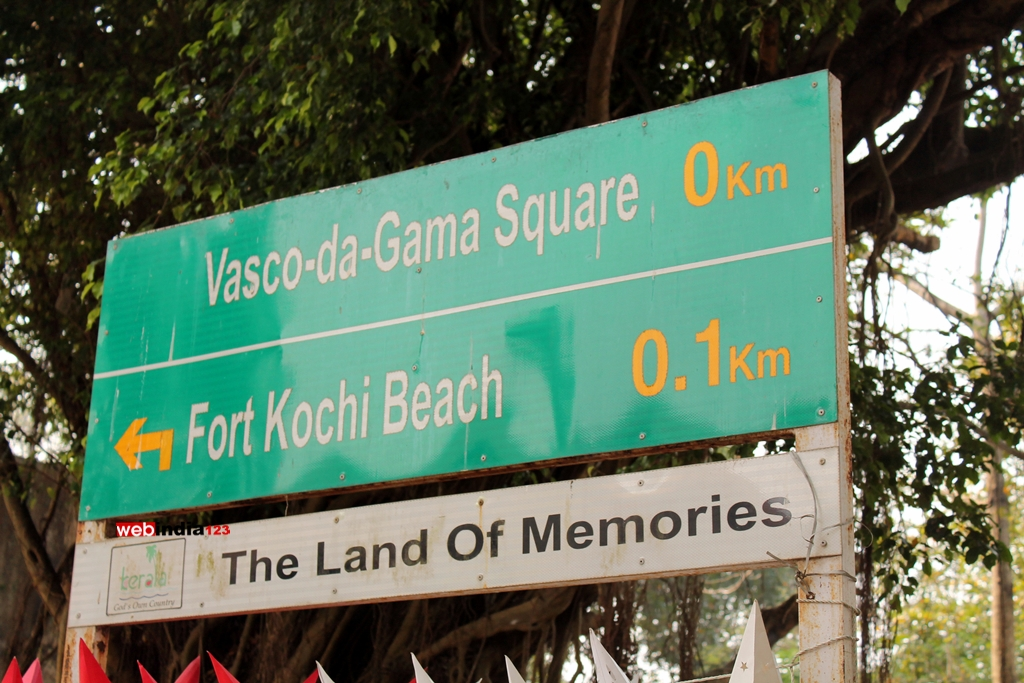 Fort Kochi - Name Board