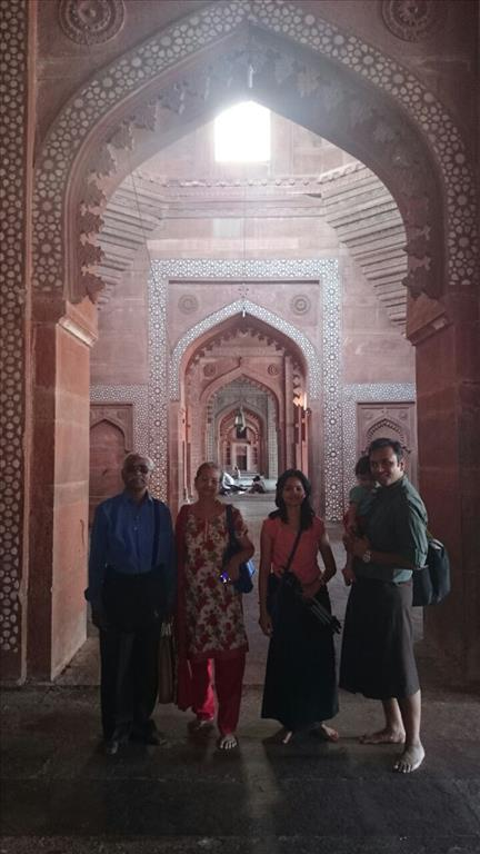 Tricky Arches Of Fathepur Sikri
