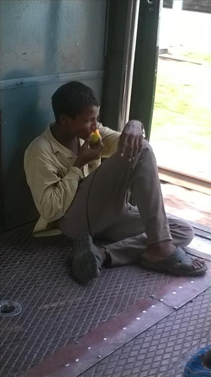 in the local train