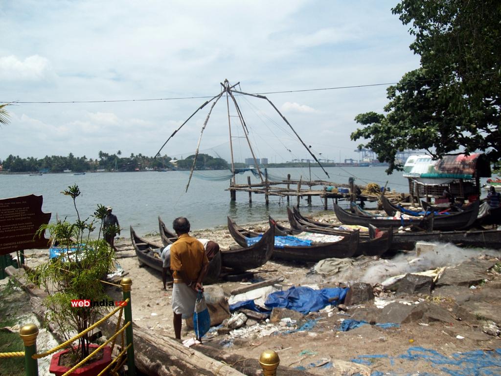 Chinese Fishing Net - Fort Kochi