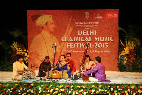 Begum Parween Sultana at the Delhi Classical Music festival