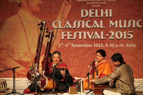Ashwini Bhide Deshpande at Delhi Classical Music festival