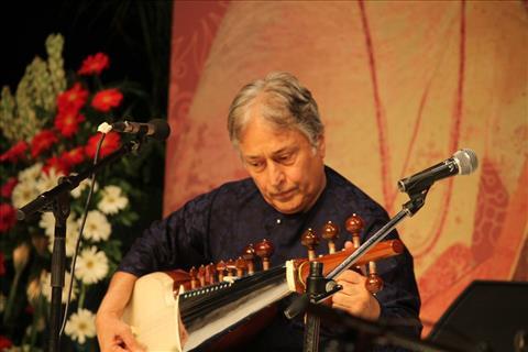 Sarod maestro Ustad Amjad Ali Khan at the Delhi Classical Music Festival