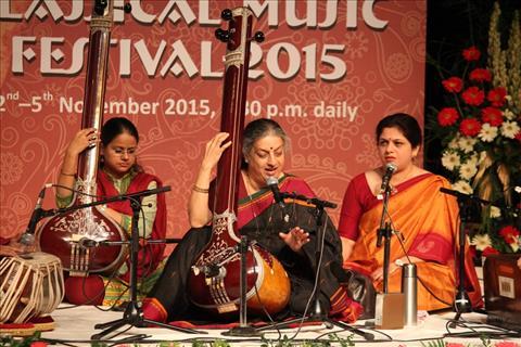 Vocal recital by Ashwini Bhide Deshpande