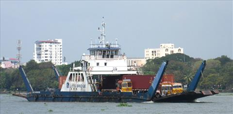 RO RO barge completes two lakh truck movements