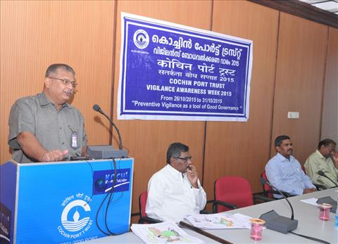 Observance of Vigilance Awareness Week in Cochin Port Trust