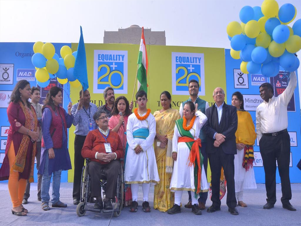 World Disability Day celebrated with 'Walk to Freedom