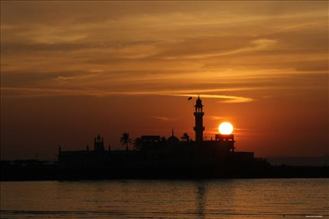 Haji Ali Sunset
