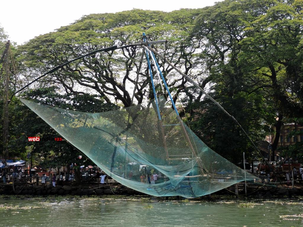Chinese Fishing Net, Kochi Ernakulam