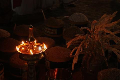 Lamp -  Guruvayur Utsavam 2016