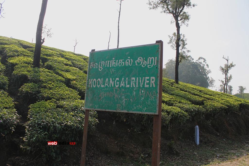 Koolankal river near valparai