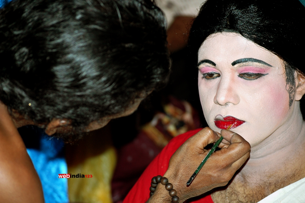 Make up - Kottankulangara Chamayavilakku 2016