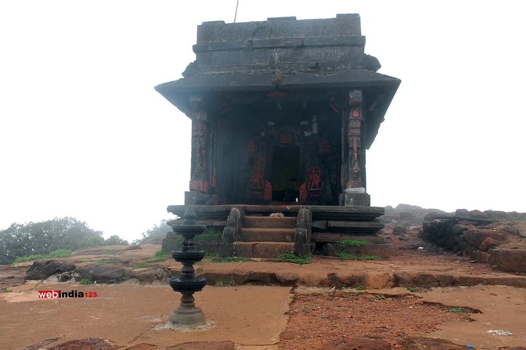 Sarvajna peeta at the peak of Kodachadri
