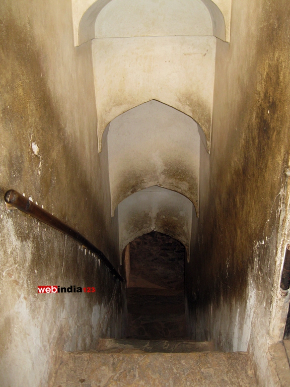 Tunnel connecting Amer Fort and Jaigarh Fort