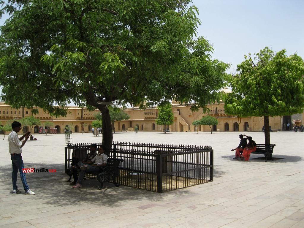 Amer Fort Courtyard