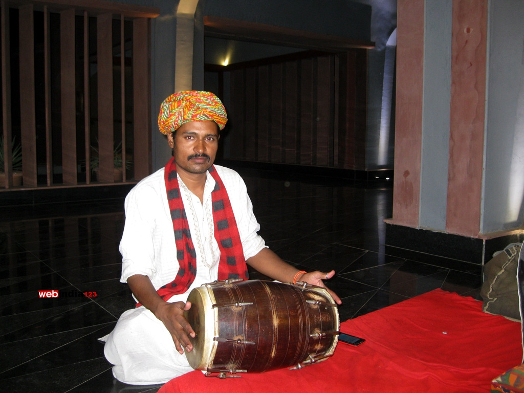 Rajasthani Man at Lebua Resort
