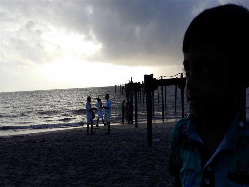 An evening at Alappuzha Beach