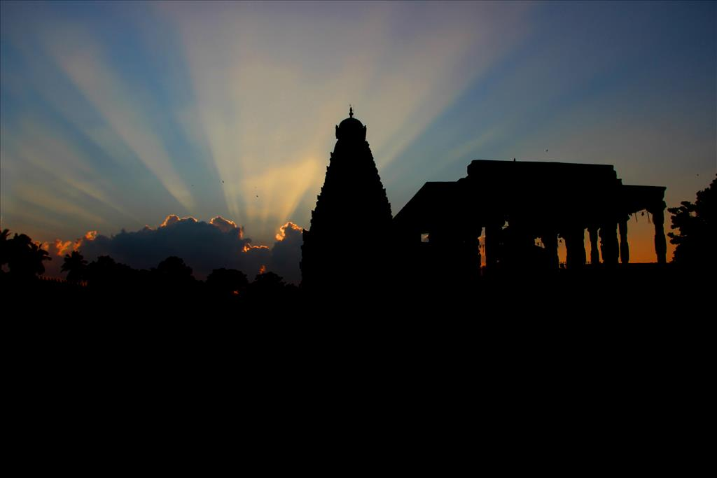 Brihadeeswarar Temple at Thanjavur.