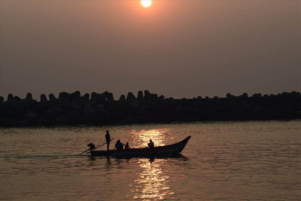 Early Morning in Chennai Harbor