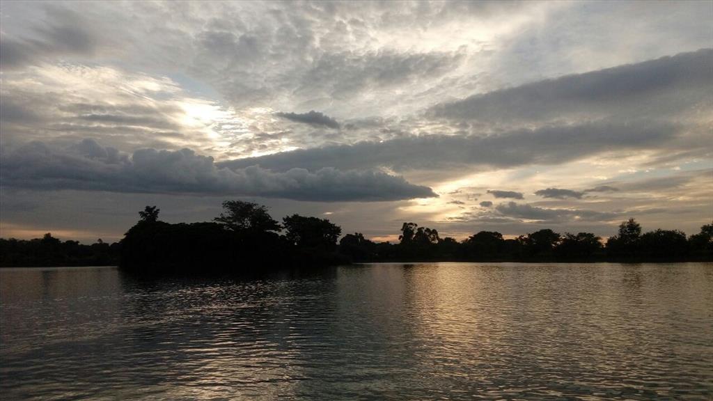 Happy sunset