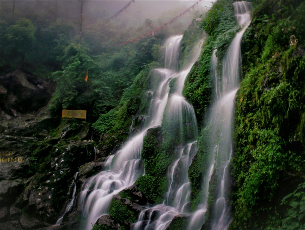 Bakhthang water fall