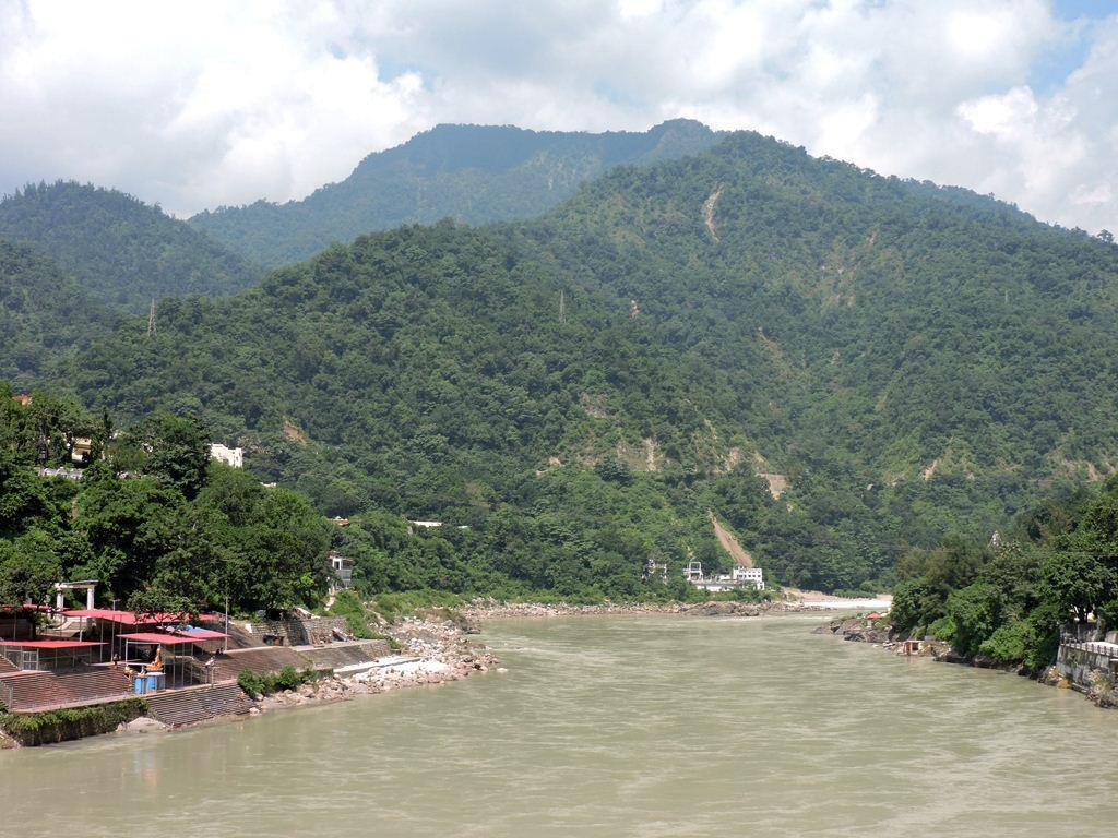 River Ganges from Lakshman Jhula