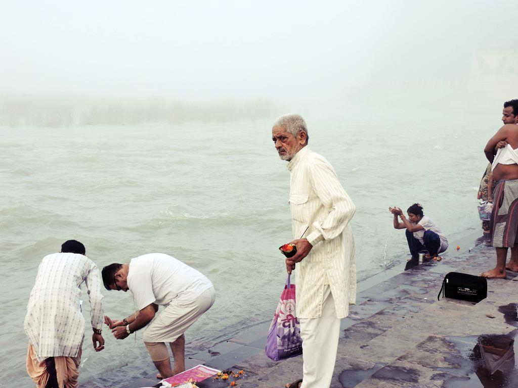 Early Morning View of Holy Ganges River