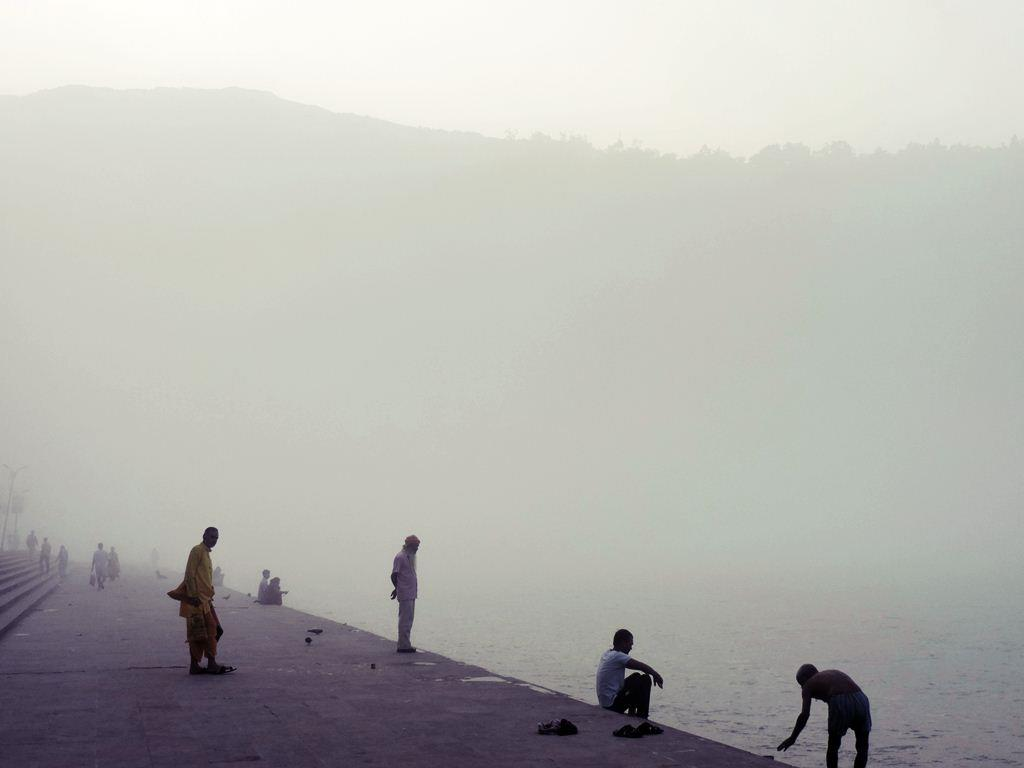 The Holy River Ganges