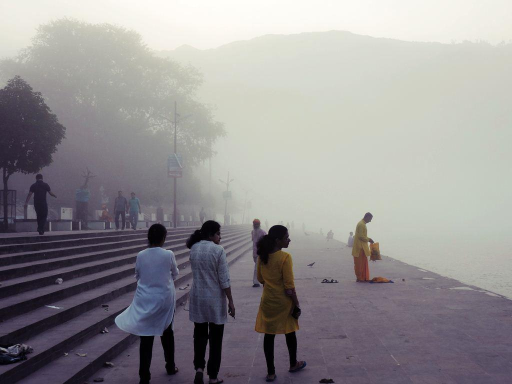 Holy Ganga Early Morning View