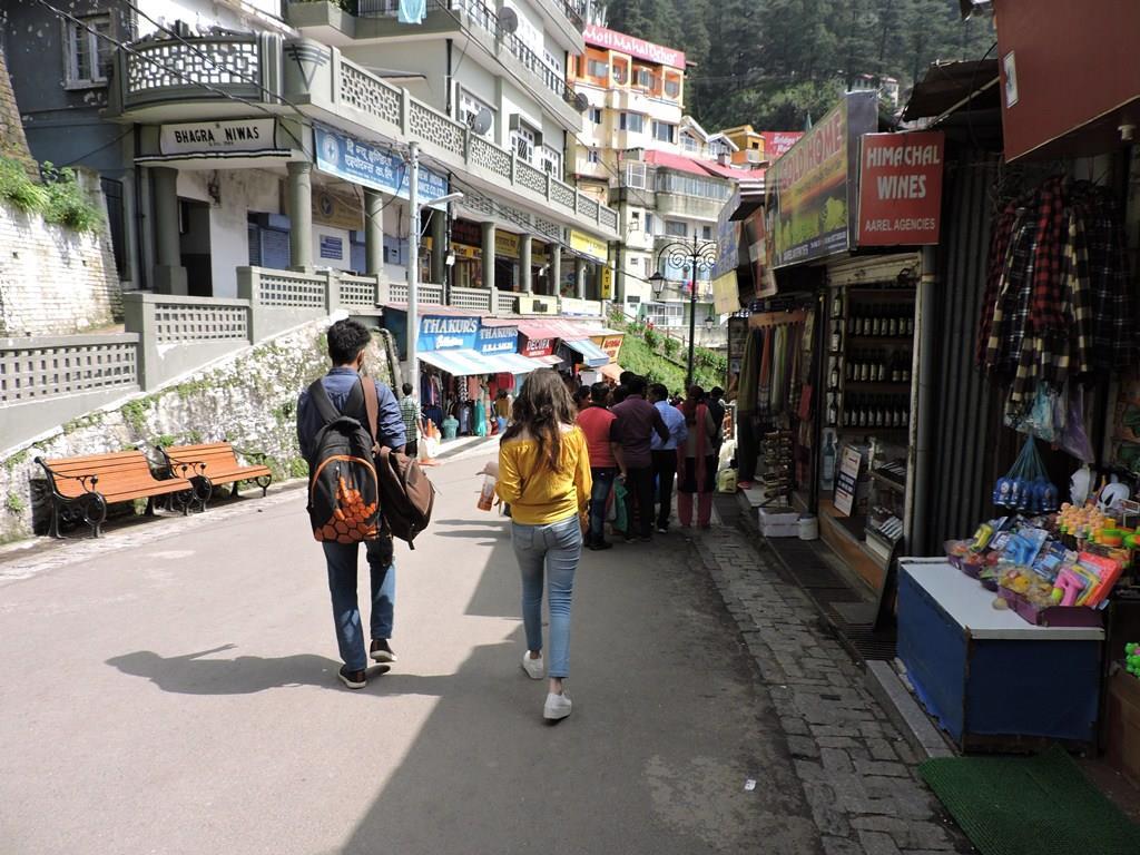 Mall Road, Shimla