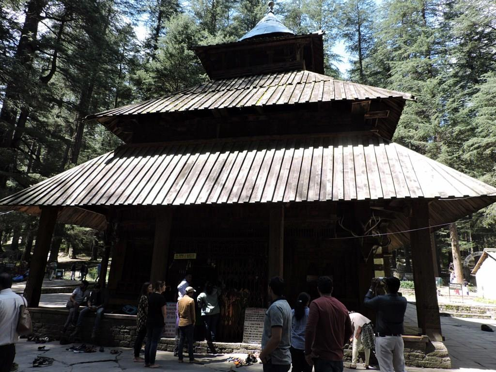 At Hidimba Temple, Manali