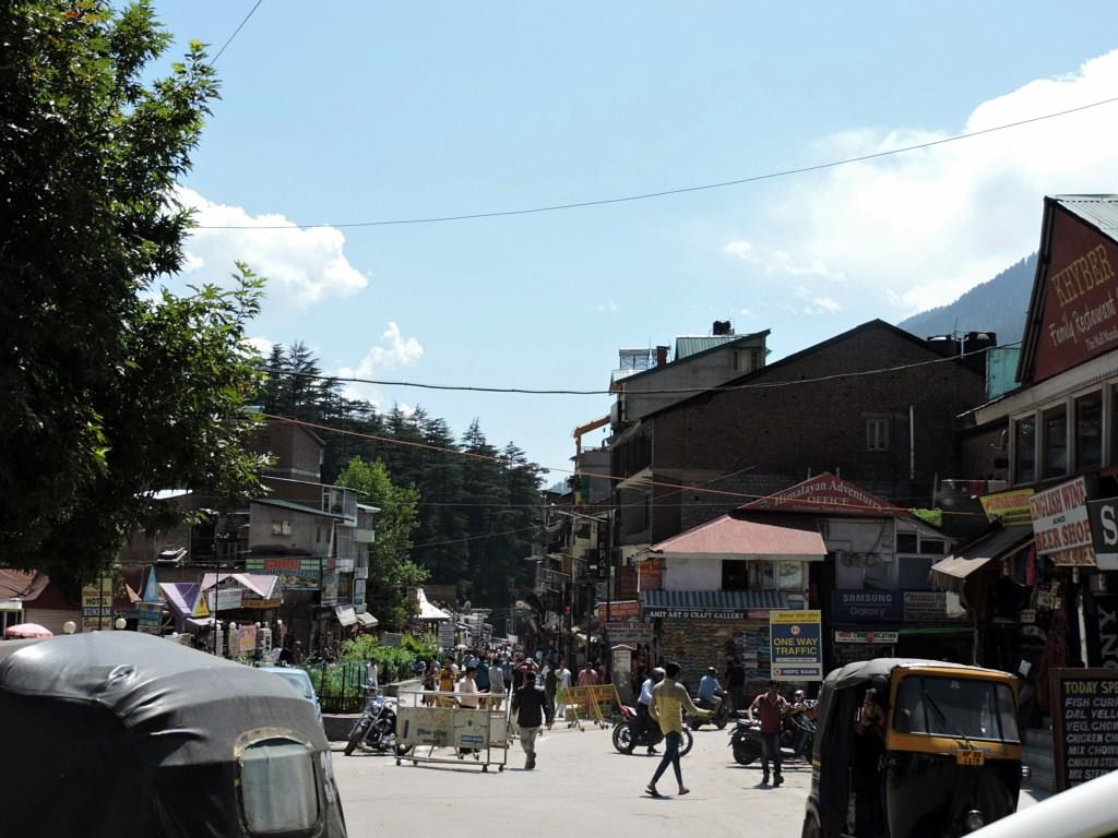 Manali Street View