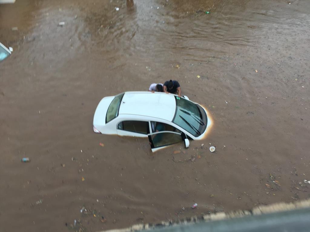 Heavy Rain in Bhubaneshwar