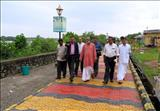 Union Tourism Minister visits Walkway Project site