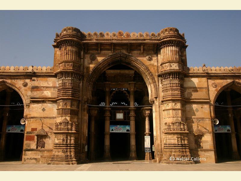 The Jami Masjid in Ahmedabad.