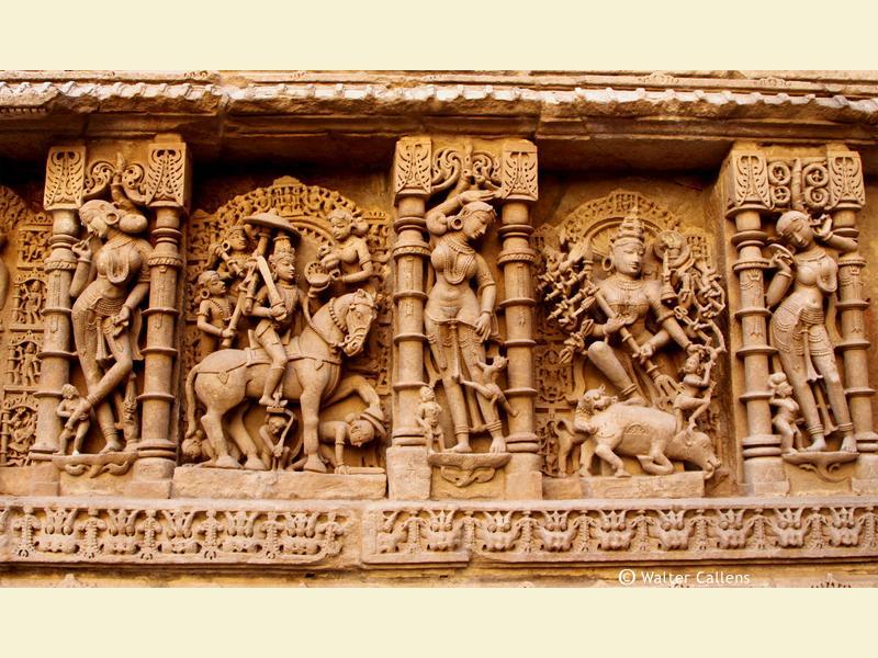 The Rani-ki-Vav stepwell in Patan (Gujarat).