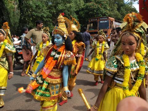 At Ochira Kali Festival