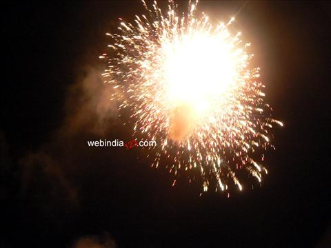 Fire works- Nenmara, Palakkad