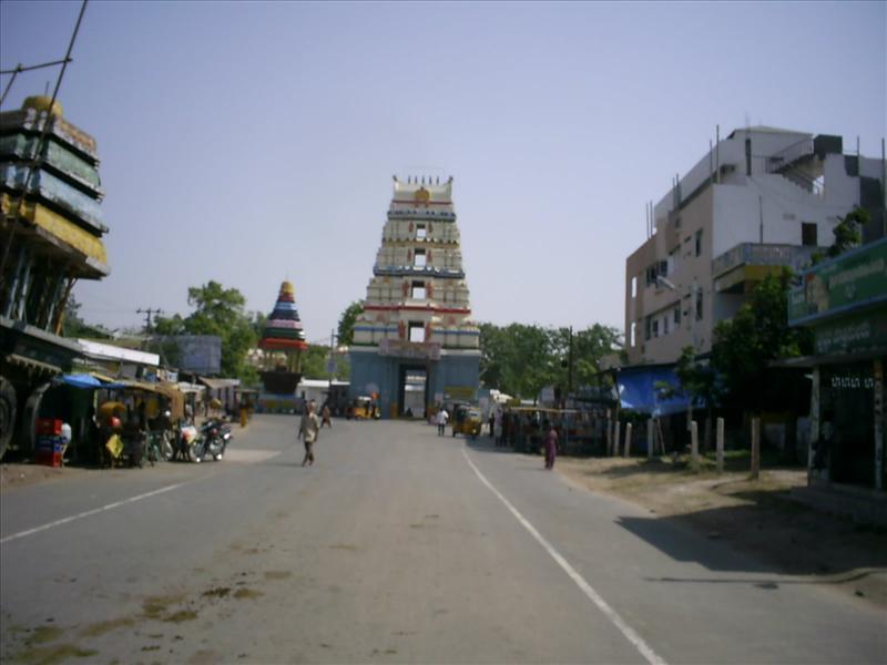 Ancient Amaravathi temple