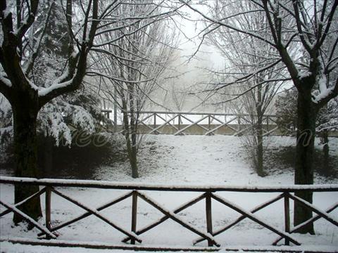 Snow falling - Italy