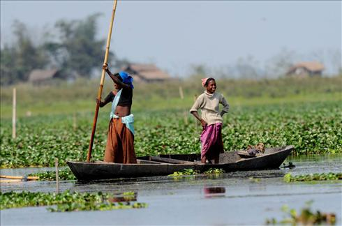 Fishing Women